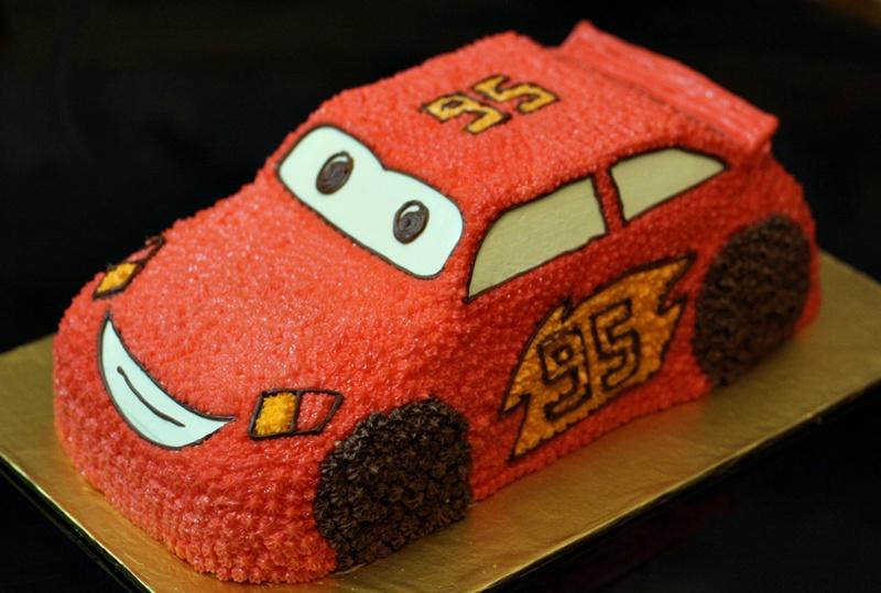 Hướng Dẫn Tự Làm Bánh Gato Hình ô Tô Tặng Con Yêu