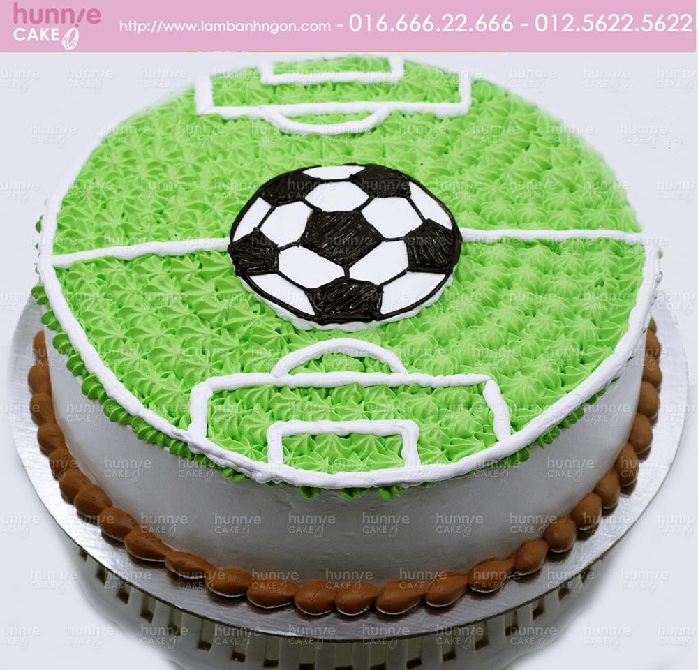 Bánh gato sinh nhật hình sân bóng đá đẹp dành cho những bạn yêu thích bóng